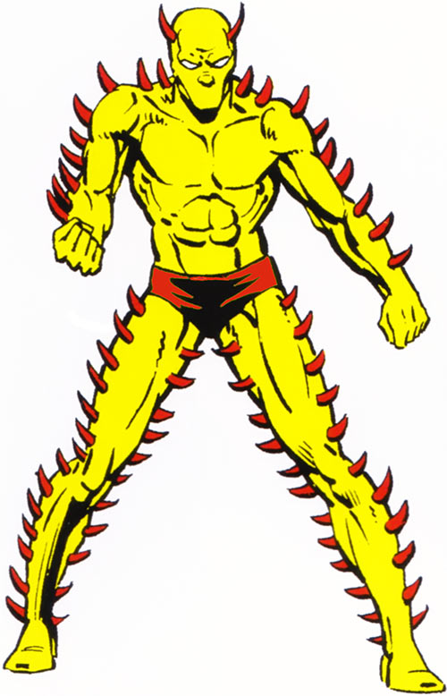 Thornn of the Salem's 7 (Fantastic Four enemy)