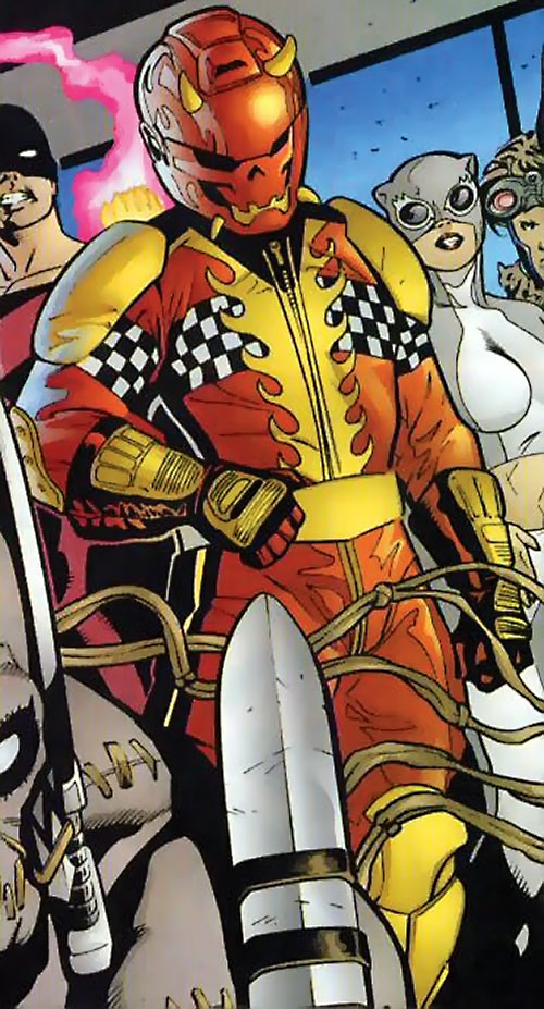 Thrill Devil (Nightwing enemy) (DC Comics)