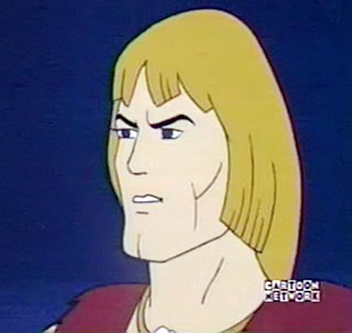 Thundarr the Barbarian face closeup