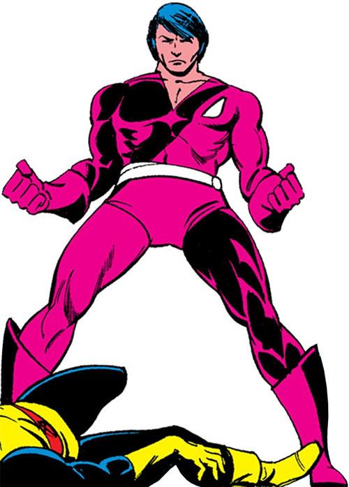 Thunderbird (James Proudstar) of the Hellions (Marvel Comics) low angle shot