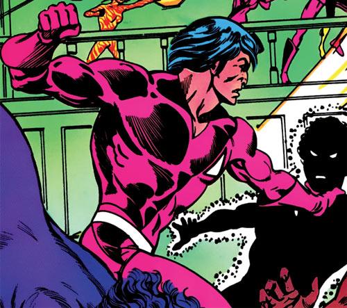 Thunderbird (James Proudstar) of the Hellions (Marvel Comics) vs. Sunspot