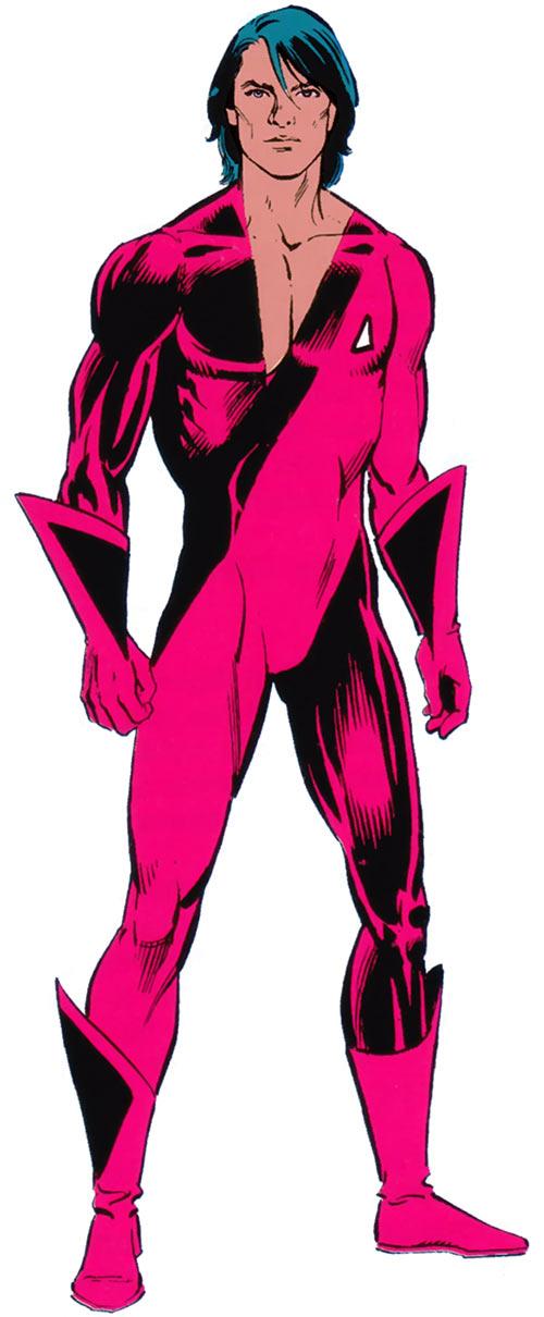 Thunderbird (James Proudstar) of the Hellions (Marvel Comics) from the Handbook