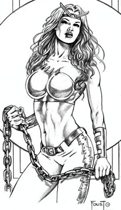 Thundra (Marvel Comics) by Mitch Foust