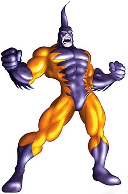 Tiger Shark (Namor enemy) (Marvel Comics) (Modern) posing angry
