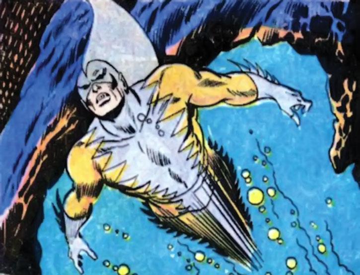 Tiger Shark (Todd Arliss) swimming at a high speed