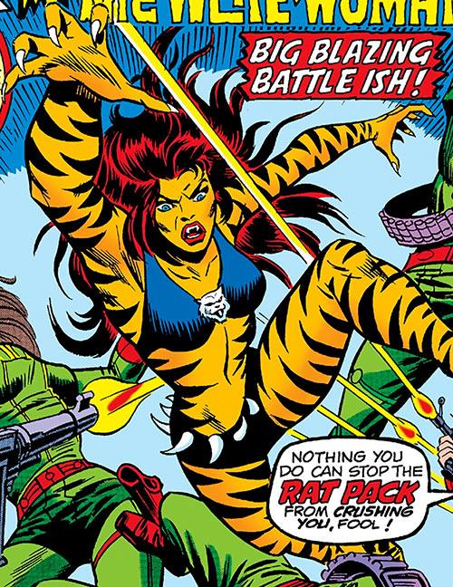 Tigra (Marvel Comics) (Profile #3) vs. the Rat Pack