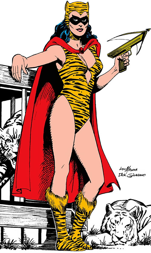 Tigress of the Young All-Stars (DC Comics) (Brooks)