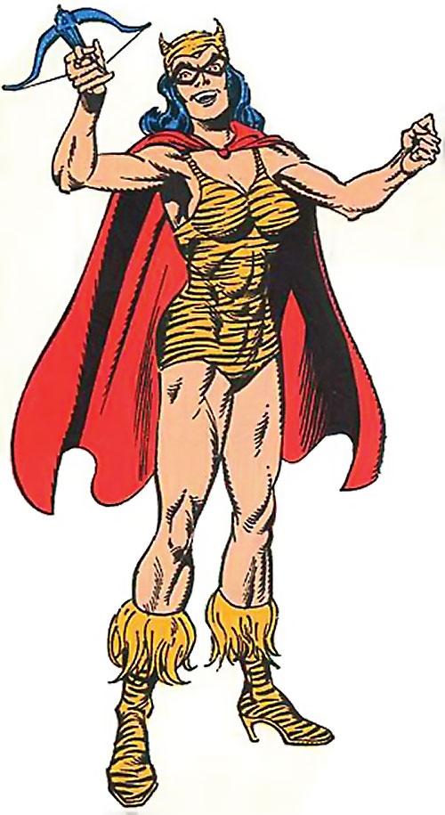 Tigress of the Young All-Stars (DC Comics) (Brooks) triumphant