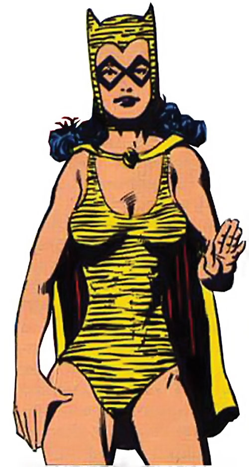 Tigress of the Young All-Stars (DC Comics) (Brooks) early costume