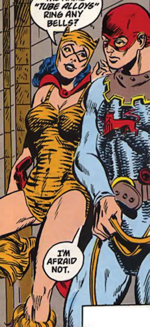 Tigress of the Young All-Stars (DC Comics) (Brooks) and the Squire