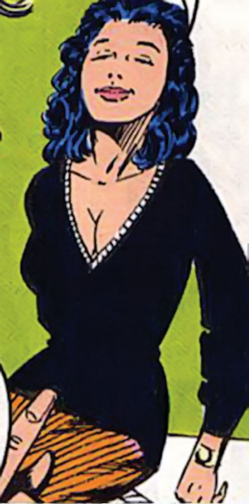 Tigress of the Young All-Stars (DC Comics) (Brooks) out of costume