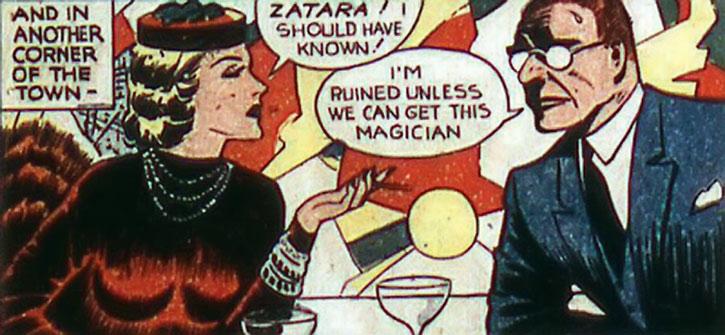 The Tigress and an enemy of Zatara