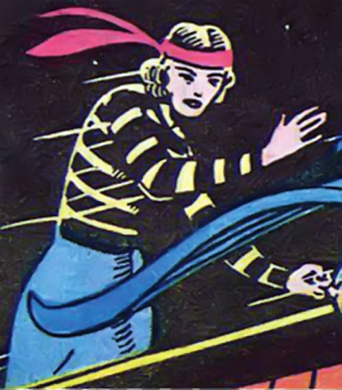 Tigress (Zatara character) (DC Comics Golden Age) in the night