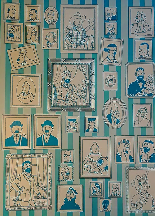Tintin characters portraits gallery 2/4
