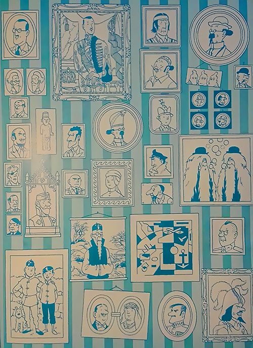 Tintin characters portraits gallery 1/4