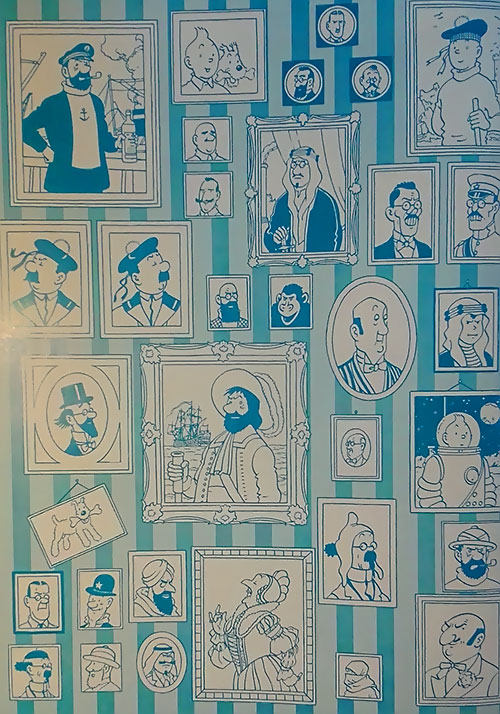 Tintin characters portraits gallery 4/4