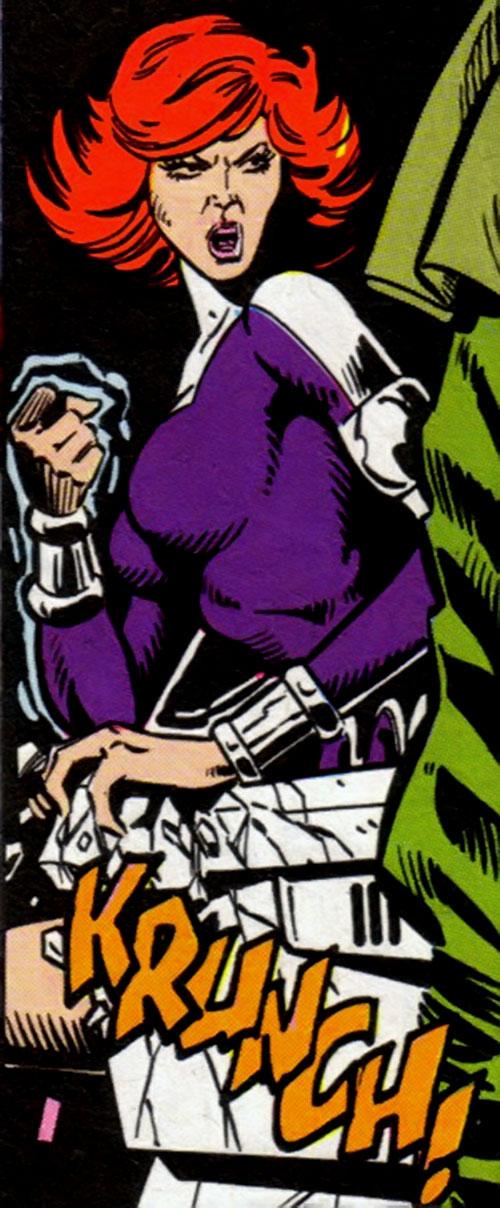 titania dc comics legion of superheroes enemy