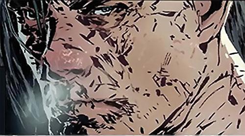 Titanium Man (Iron Man enemy) (Modern Marvel Comics) weathered face