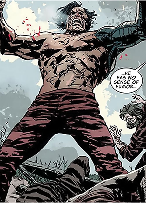 Titanium Man (Iron Man enemy) (Modern Marvel Comics) in the gulag