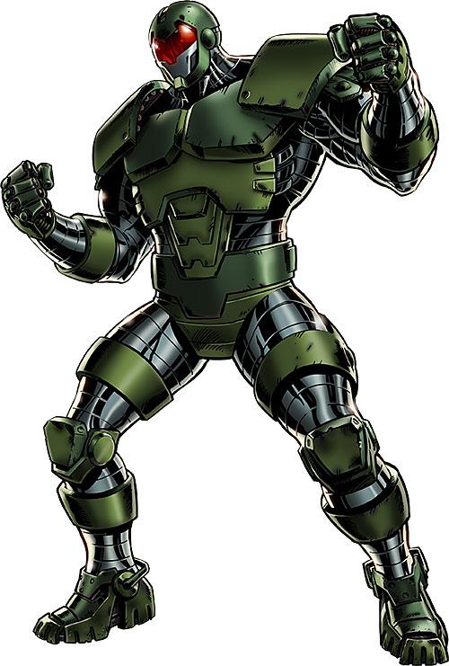 Titanium Man (Iron Man enemy) (Modern Marvel Comics)