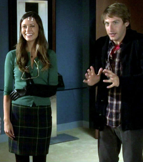 Topher (Fran Kranz in Dollhouse) and Bennett (Summer Glau)