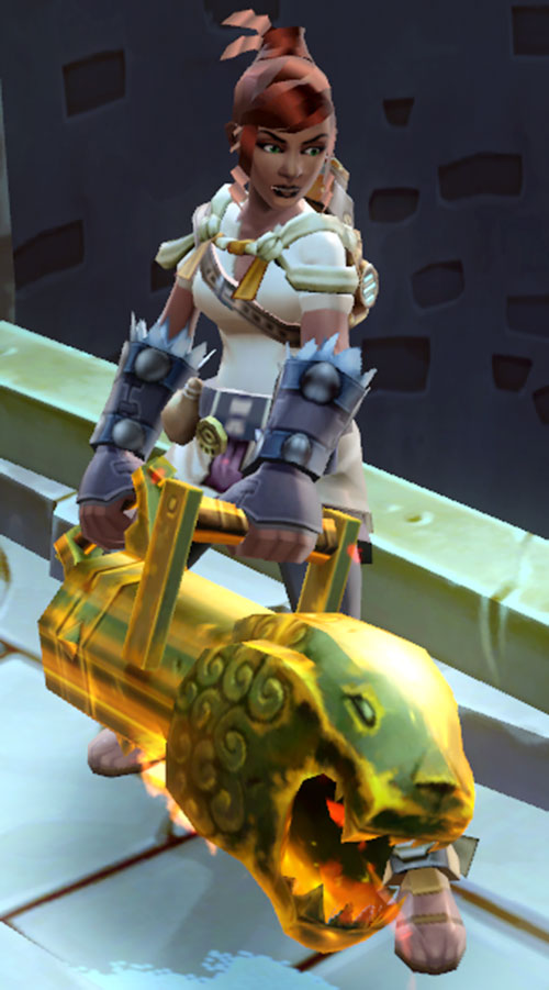 Torchlight 2 cannon engineer - Cannonball Rae