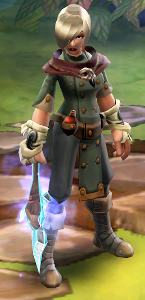 Ksenia Venom (Torchlight outlander) green outfit