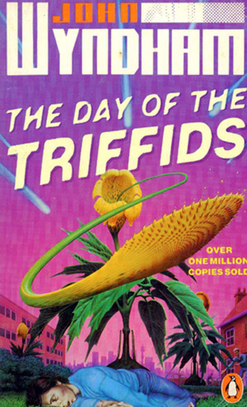 Day of the triffids - Wyndham Penguin novel cover