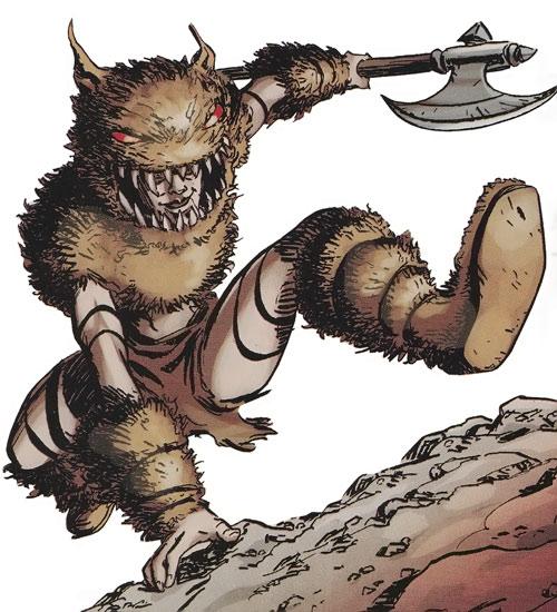 Troll of the Thunderbolts (Marvel Comics)