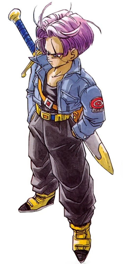 Trunks - Dragon Ball character - Androids future version ...