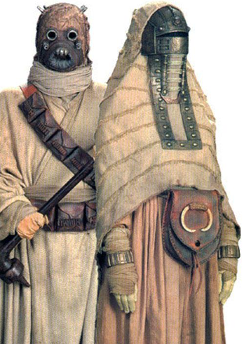 Tusken couple (Star Wars)