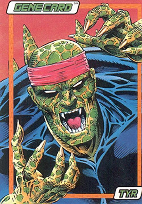Tyr of the Gene Dogs (Marvel Comics UK) trading card