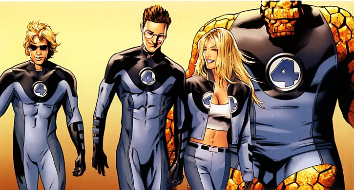 Ultimate Fantastic Four group shot