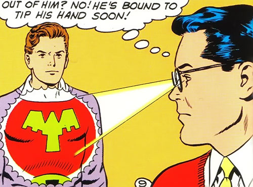 Ultra-Boy of the Legion of Super-Heroes (DC Comics) (Early Silver Age) and Superboy