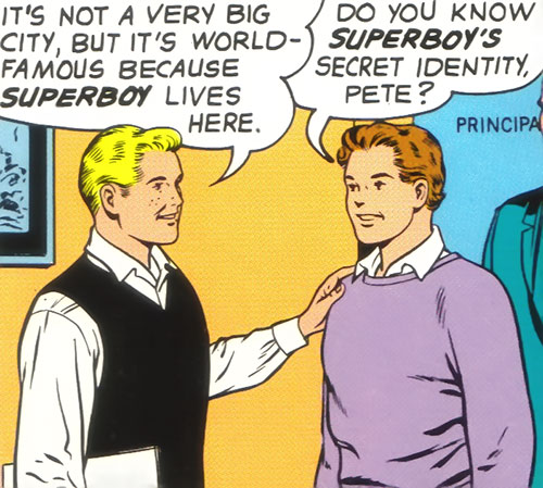 Ultra-Boy of the Legion of Super-Heroes (DC Comics) (Early Silver Age) and Pete Ross