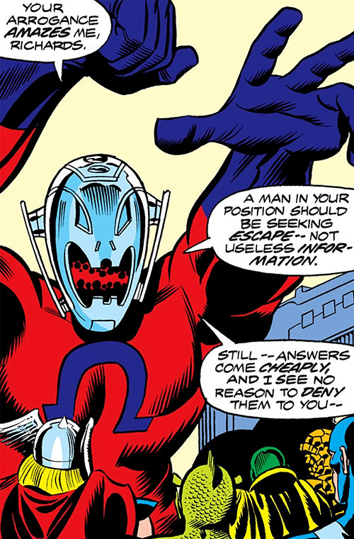 Ultron-7 (Avengers and Fantastic 4 enemy) (Marvel Comics)