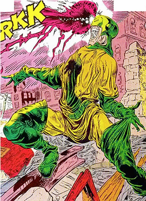 Unicorn II (Marvel Comics) emaciated
