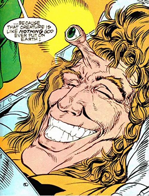 Unicorn II (Marvel Comics) face closeup