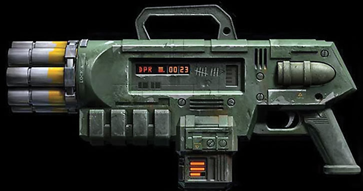 Unreal Tournament weapons - pulse blaster