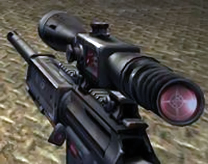 Unreal Tournament weapons - sniper rifle