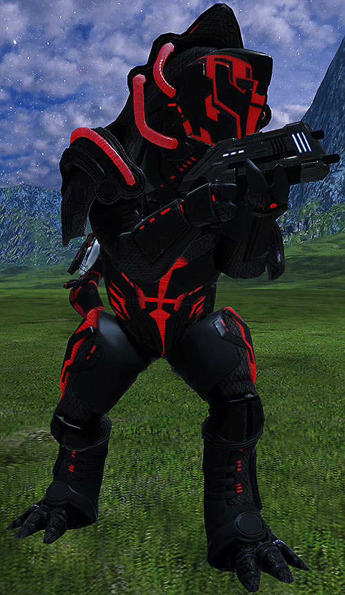 Urdnot Wrex (Mass Effect) endgame hardsuit