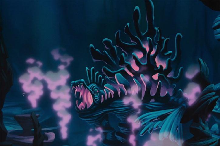 Ursula the sea witch (Disney's little mermaid) - undersea lair