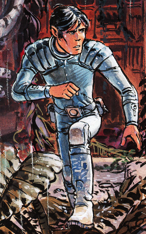 Valerian (and Laureline graphic novels) painting