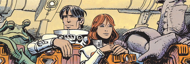 Laureline and Valerian (plot/story article) among aliens