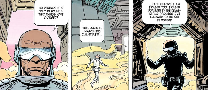 Laureline and Valerian (plot/story article) the superintended of the space-time service