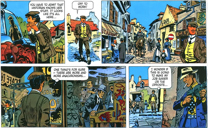 Laureline and Valerian (plot/story article) in a fake French past