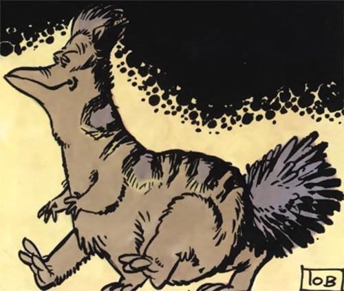 Valerian & Laureline - Useful alien animals - Gumun