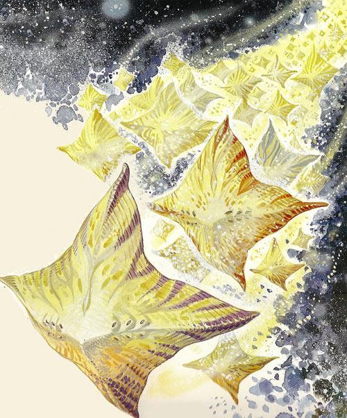 Valerian & Laureline - Useful alien animals - flight of Zypanons