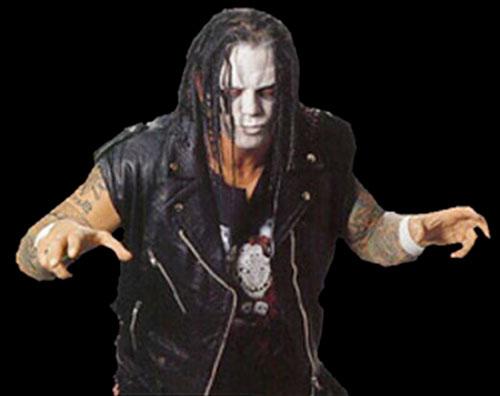 Vampiro - Wrestler - Fantasy Character Profile - Ian Hodgkinson ...