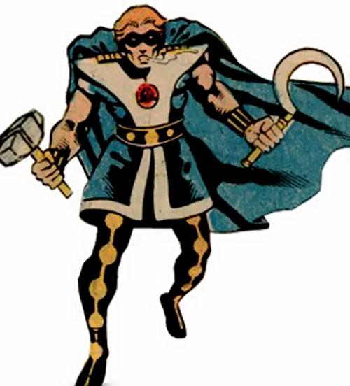 Vanguard of the Soviet Super Soldiers (Marvel Comics) classic costume